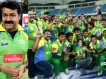 Mohanlal Misses Out Kerala Strikers Vs Chennai Rhinos Match