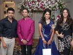 Pics Vj Ramya Wedding Reception