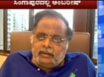 Ambareesh Message Singapore Video Conference