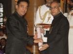 Kamal Hassan Receive Vairamuthu Padma Bhushan President