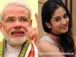 Harshika Poonacha Admirer Of Narendra Modi