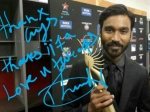 Dhanush Wins First Iifa Award