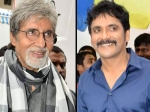 Amitabh Bachchan Shoots For Nagarjunas Film