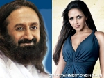 Esha Deol Sri Sri Ravishankar Super Cool Guruji