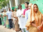 Media Magnified Chiranjeevi Jumping Queue During Voting Teja