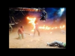Manchu Manoj Escapes Fire Accident On Current Teega Set