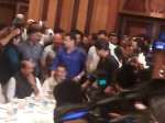Shahrukh Salman At Baba Siddique Iftaar Party