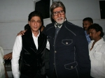 Shahrukh Wishes Goodluck Amitabh Yudh