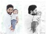 Allu Arjun Releases His Son Ayaan Photos
