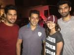 Salman Khan Kick Special Screening At Yash Raj Studios