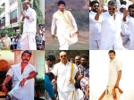 Tamil Actors Traditional Dhotis Veshti