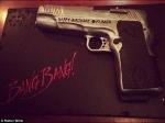 Demi Moore Gifts Gun Shaped Birthday Cake To Rumer Willis