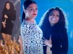 Nicki Minaj Battles Wardrobe Malfunction At Vmas Stage