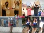 Hansika Lakshmi Nikhil Swathi Karthika Als Ice Bucket Challenge