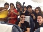 Kapil Sharma Comedy Nights Family Leave Dubai Photo