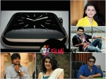 What Ram Taapsee Hansika Nikhil Harish Say About Apple Watch