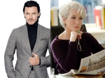 Luke Evans I Would Love To Have Dinner With Meryl Streep
