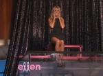 After Portia De Rossi Heidi Klum Gets Dunked At The Ellen Show
