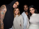 Double Fun Kanye And Kim Bond With Chris And Karrueche