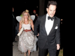 Hilary Duff Bonds With Ex Husband Mike Comrie At Halloween Party