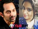 Fahadh Faasil To Romance Sana Althaf