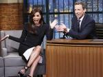 Eva Longoria At Late Night Show With Seth Meyers