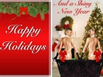 Ellen Degeneres And Portia De Rossis Christmas Card Inspired By Kim