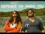 Happy Ending Movie Review Saif Ali Khan Ileana Govinda