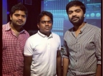 Simbus Brother Makes Yuvan To Sing For Him