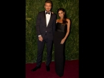 David Beckham Hit Theatre Awards Red Carpet After Car Crash