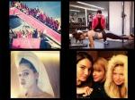 Models Get Ready For Victorias Secret Fashion Show 2014 London
