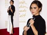 Victoria Beckham Turns Emotional At British Fashion Awards