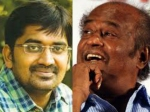 Rajinikanth Praises Comedian Karunakaran On The Sets Lingaa