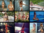 Best Celebrity Bikini Pics 2014 Kim Kardashian Rihanna And More