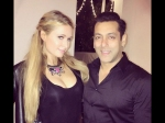 Salman Khan Parties With Paris Hilton In Pune
