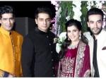 Photos Riddhi Malhotra Tejas Talwalkar Sangeet Ceremony