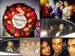 Salman Khan 49th Birthday Bash Bigg Boss Contestants Gauhar Kushal Photos
