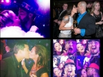 Celebrity Couples Kiss And Welcome New Year 2015 Pics