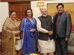 Sonakshi Sinha Vip Meeting With Prime Minister Narendra Modi