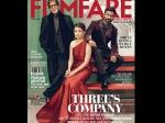 Shamitabh Cast Rocks Filmfare January Cover Amitabh Dhanush Akshara