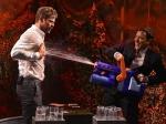 Jimmy Fallons Water War Chris Hemsworth Gets Wet