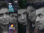 Bigg Boss 8 Torture Cage For 25 Lacs Gautam Dimpy Preetam Sambhavana Strong Photos