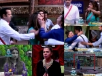 Shocker Sambhavana Slapped Dimpy Mahajan Bigg Boss 8 Photos
