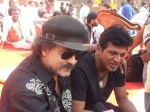 Ravi Chandran Shivarajkumar Shooting Pictures Vajrakaya