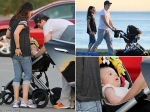 See Ashton Kutcher Mila Kunis Daughter Wyatt