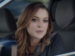 Lindsay Lohan Funny Super Bowl Car Ad For Esurance