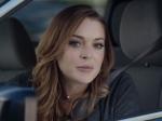 Lindsay Lohan Funny Super Bowl Car Ad For Esurance
