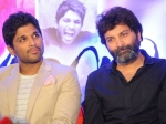 Alluarjun Trivikrams Film In Trouble