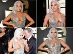 Lady Gaga Suffers Wardrobe Malfunction Twice At Grammys
