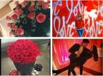 Celebrities Celebrate Valentines Day